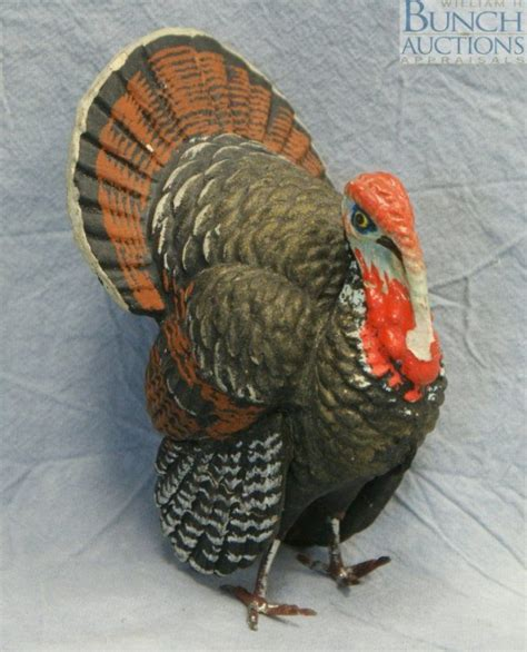 How To Make A Paper Mache Turkey - 53 best images about turkeys on antiques pull