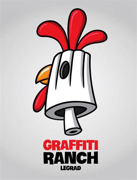 Graffiti Schriftzug Erstellen by Graffiti Ranch Logo The Ranch Lies In Croatia S