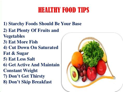 8 healthy food tips way2goodhealth