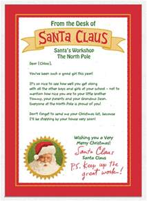 hurry custom personalized card from santa mailed to your