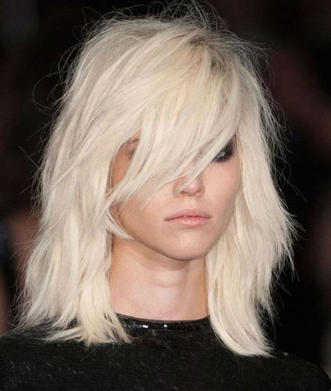 shag haircut rocker style 28 fabulous lob hairstyles you ll want to copy now