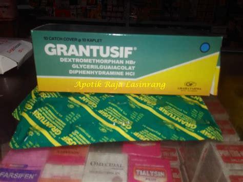 Obat Grantusif jual grantusif tab obat batuk raja lasinrang