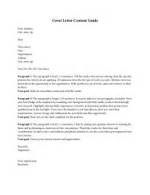 Cover Letter Contents by Cover Letter Content