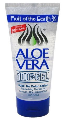 fruit of the earth aloe vera fruit of the earth aloe vera 100 gel 6 oz pharmapacks