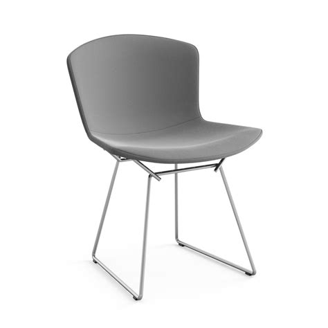 chaise bertoia knoll knoll chaise enti 232 rement tapiss 233 e bertoia structure