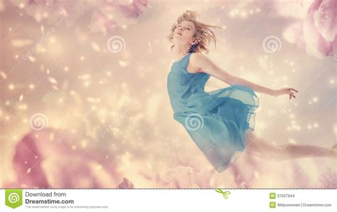 On Jumps Fantasi Pink beautiful in a pink peony flower stock photo image 51507944