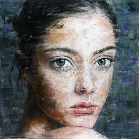 portrait painting harding meyer 1964 abstract portrait painter tutt pittura scultura