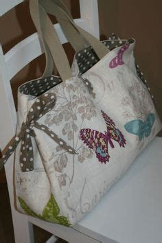 Tas Unik Unique Handmade Bbu3 Beautiful Butterfly sew your own unique and eco friendly shopping bags sewing