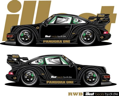 porsche jdm illest rwb pandora one porsche rendered by jdm ego sick