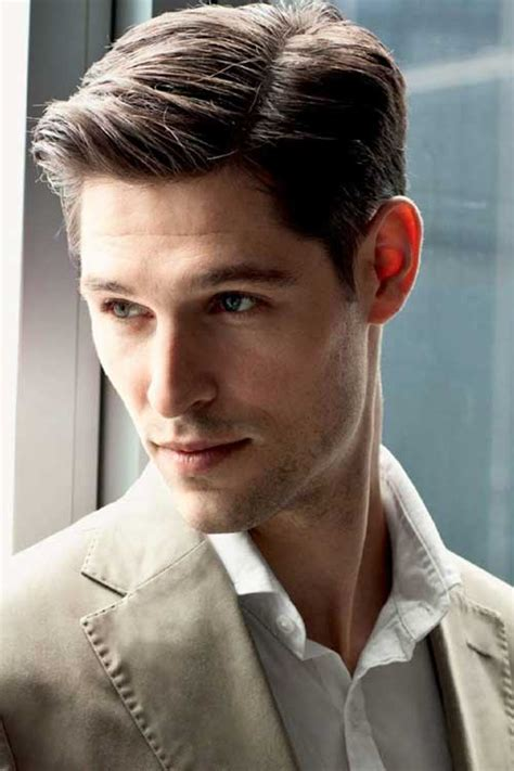 mens haircuts parted to the side 10 medium length haircuts men mens hairstyles 2018