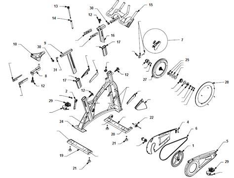 schwinn airdyne parts diagram finding genuine schwinn airdyne parts health fiteness