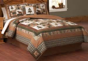 Lodge Style Comforter Sets Cabin Creek Bedding With Moosehead Lodge Quilt You Are