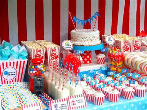 circus themed birthday guest feature - Circus Themed Birthday Decorations