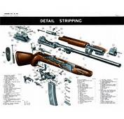 Exploded View Of The M2 Carbine