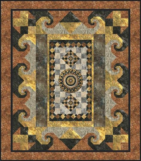 Panel Quilts Free Patterns by A Panel Quilt Pattern Gtd 120 Intermediate