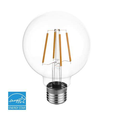 Euri Lighting 60w Equivalent Warm White 2700k G25 Dimmable Led Light Bulbs 60w