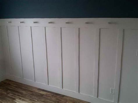 Raised Panel Wainscoting Lowes Walls Raised Panel Wainscoting With Blue Colour Wall