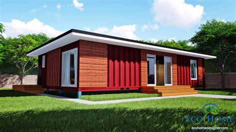 two bedroom home sch11 3 x 40ft 2 bedroom container home plans eco home