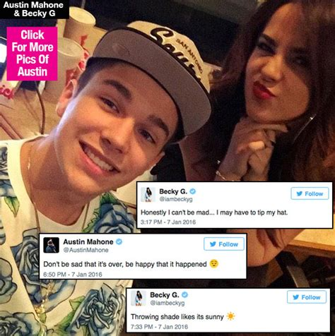 Mahone Becky G Mahone Becky G Throwing Shade After Breakup See