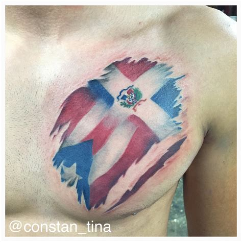 dominican flag tattoo designs group 77