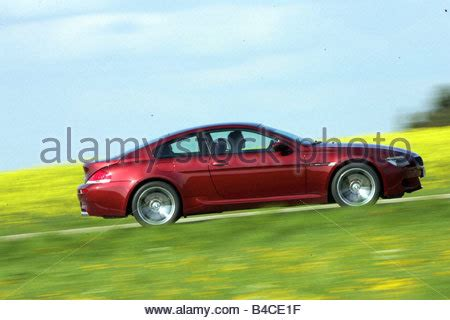 car, bmw m6, model year 2005 , ruby colored, roadster