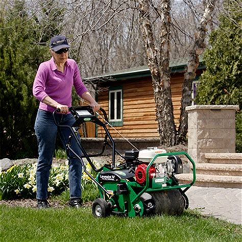 pro aerator rental the home depot