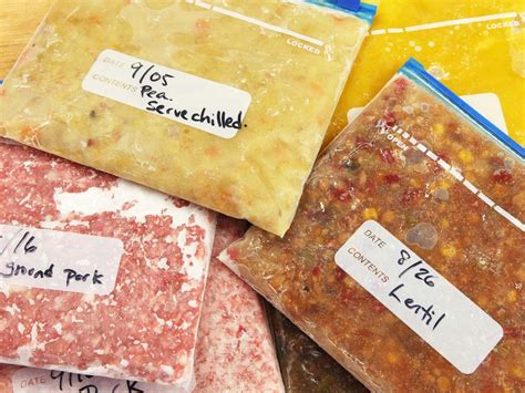 best way to freeze soup the better faster way to freeze and defrost your foods