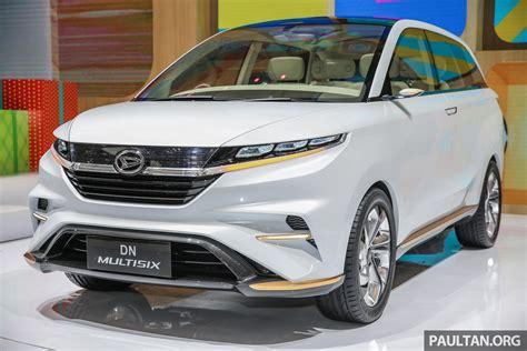 GIIAS 2017: Daihatsu DN Multisix   a flagship MPV