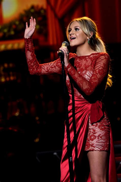 kelsea ballerini kelsea ballerini at cma 2016 country christmas in