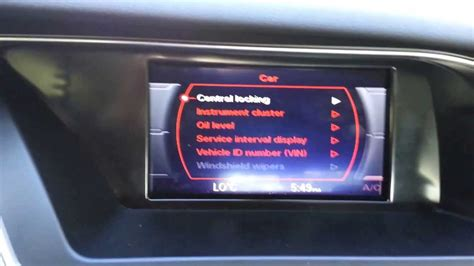 Oil For Audi A4 by How To Check Oil 2013 Audi A4 B8 Youtube