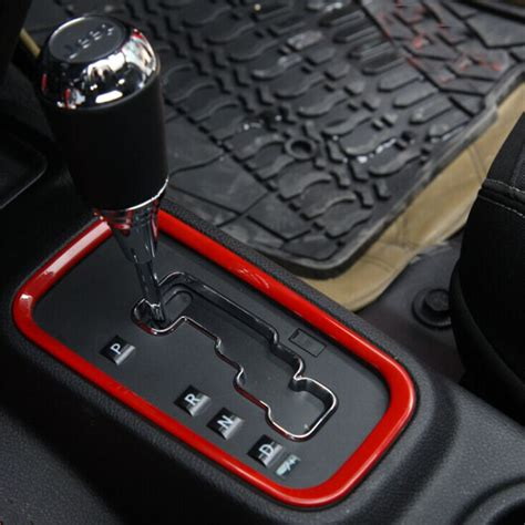 Jeep Interior Accessories by For Jeep Wrangler Rubicon Jk 2008 2015 Abs Gear Shift