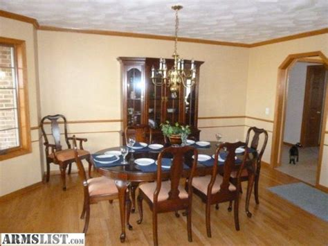 cherry dining room sets for sale armslist for sale trade pennsylvania house dark cherry