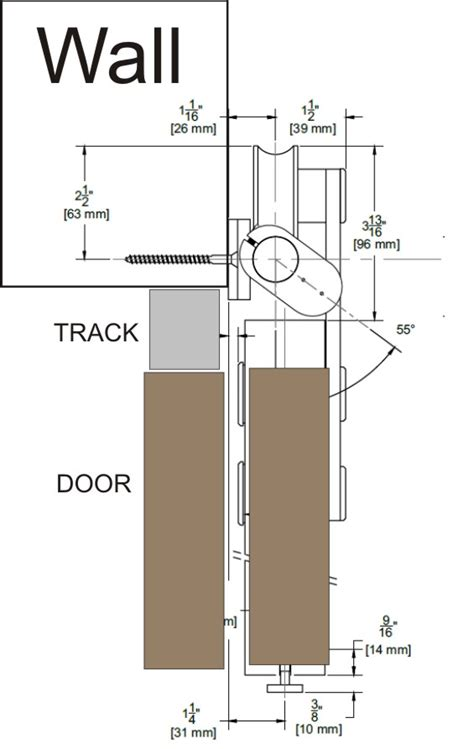 Bypass Barn Door Track System Barn Door Hardware Kits From Leatherneck