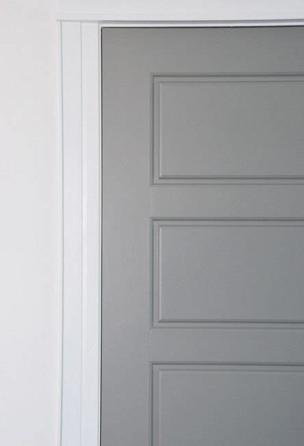 painting interior door painting interior doors gray how i did it the sweetest digs