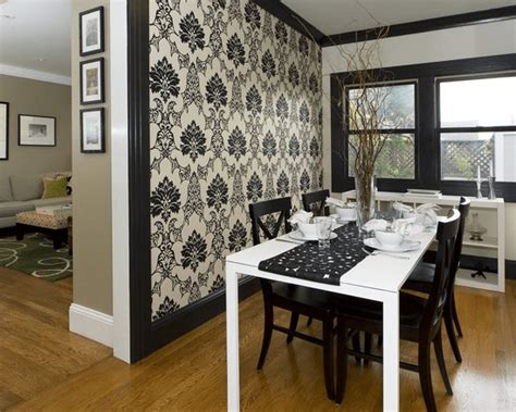 Dining Room Wallpaper Accent Wall by 6 Kinds Of Accent Walls For Your Home Furnishmyway