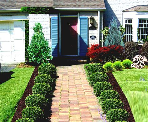 Front Garden Decor Lawn Garden Small Front Yard Curb Appeal With Front Lanscape Chsbahrain