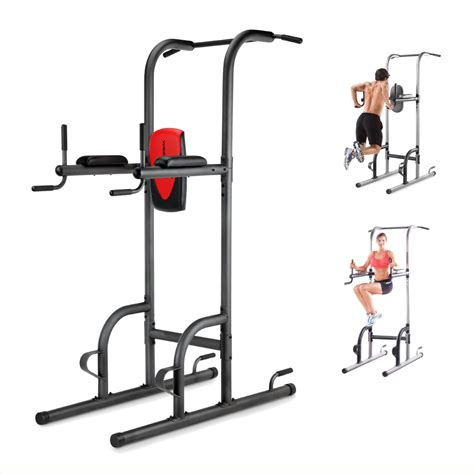 pull up bench power tower home gym pull up push up dip station biceps