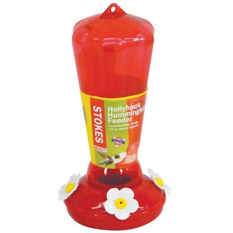 stokes select hollyhock hummingbird feeder petco