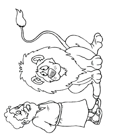 free printable coloring pages of daniel in the lion s den daniel and the lions den coloring sheet 21698