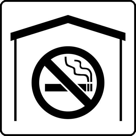 no smoking sign black and white no smoking free stock photo illustration of a black