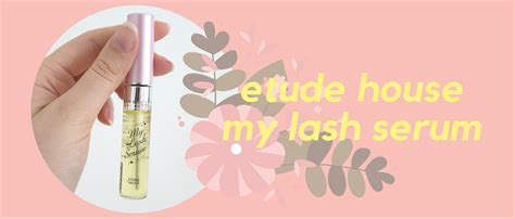 My Lash Serum taeheedaily etude house my lash serum a review and a