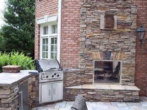 Two Sided Fireplace Indoor Outdoor - indoor outdoor fireplace traditional patio charlotte by kolby construction company
