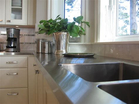 How To Stainless Steel Countertops 5 different countertop choices you should consider