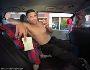 new york city taxi drivers strip for tongue in cheek 2016
