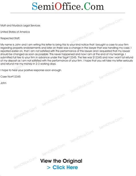 refund letter format for school request letter to refund payment