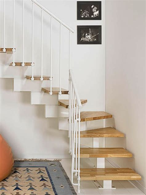 staircase design for small spaces architecture attractive minimalist birch wooden space