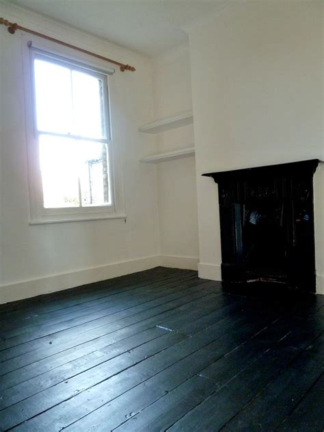 Floor Paint Wooden Floorboards by Black Wooden Floors Dilemma Brown White Or