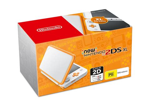 Nintendo New 2ds Xl White Orange Nintendo 2ds Xl Will Launch On June 15th For 199 In Australia