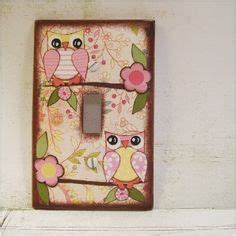 Decoupage Switch Plates - 1000 images about children s decor on light