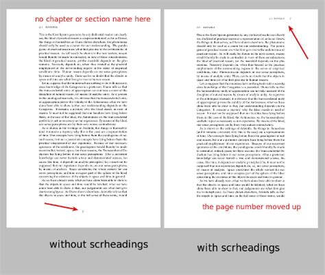 header layout latex how to customize the page header and the page number of